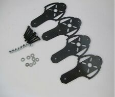 X400 X525 X600 Quadcopter Quadrotor Multirotor Carbon Fiber Motor Mount Set