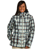 Burton Method Jacket Womens Waterproof Insulated Ski Snowboard Coat Plaid
