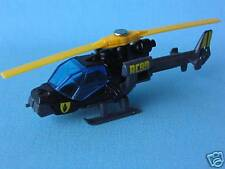Matchbox Commando Mission Helicopter Black Unboxed Army