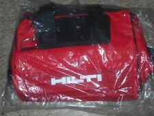 "Hilti 16"" Heavy Duty Contractor Tool Bag New ~ Electrical Carpenter Mechanic"