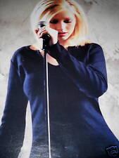 Christina Aguilera stunning Photo Promo Ad no print