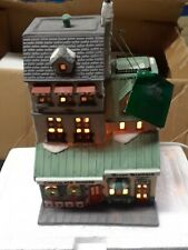 """Vtg Department 56 Christmas In The City - """"The Chocolate Shoppe"""" - 5968-4 Nos"""