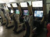 Sega Namco Capcom SNK Konami All Arcade Game Cabinets 2