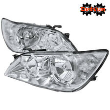For  2001-2005 Lexus IS300 Chrome Euro Headlights Replacement Lights Altezza