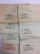 39  Military Training Maps & Overlays-U.S, Germany, So. Africa, & Poland