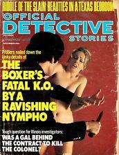 """OFFICIAL DETECTIVE""  ~ DECEMBER 1975 ~  *** VINTAGE ISSUE ***"