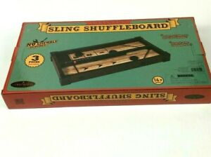 "Barrington 16"" Tabletop Sling Shuffleboard Game Table"