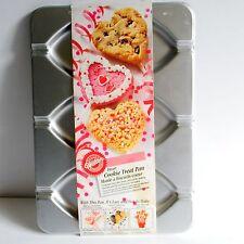 Wilton Aluminum Heart Shaped Cookie Treat Pan Cake Pops Recipes Valentine's Day