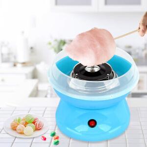 Zuckerwattemaschine Zuckerwattegerät Zuckerwatte Maschine 500W Blau