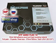 10 panels 1.87sq-m. Full Pack STP AeroFlex 10 10mm Noise&Heat Insulate Material