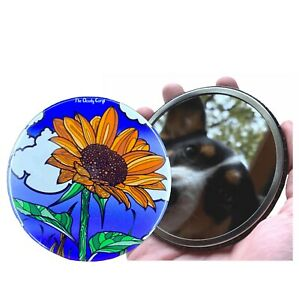Psychedelic Mushroom Pocket Mirror Gardening Gifts and Collectible Accessories