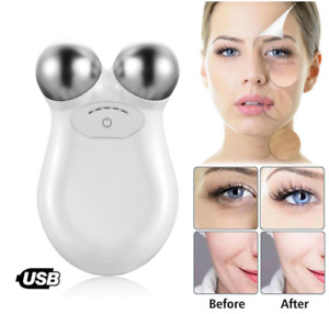Mini Facial Massage Toning Device for Face Wrinkle Removal and Skin Tightening