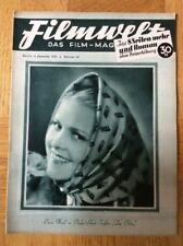 Filmwelt Nr. 49, 1932 - Marlene Dietrich / Liane Haid / Ernst Lubitsch