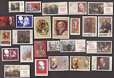25 All Different LENIN on Stamps