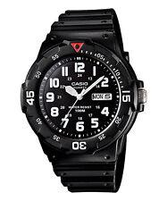 Casio Original New MRW-200H-1B Black Analog  Mens Watch 100m WR MRW-200 MRW200