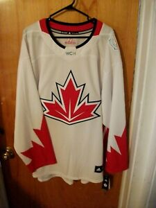 BRAND NEW WITH TAGS 2016 WORLD CUP OF HOCKEY TEAM CANADA JERSEY XXL ADIDAS