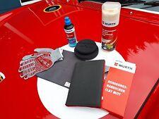 Wurth Resurfacing kit with Clay Mitt and P55 Polish