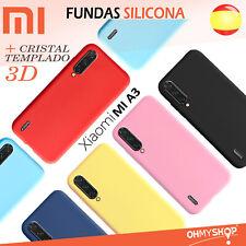 Funda Xiaomi Mi A3 Silicona Gel Flexible Ultra Suave Varios Colores Tpu Case