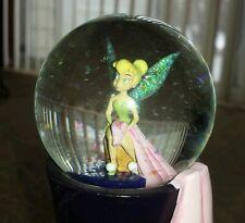 Disney Tinkerbell Snow Glitter Globe Fairy Decorative Large