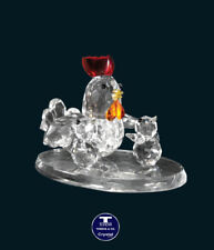 "[SPECIAL OFFER] ""Chicken Family"" Austrian Crystal Figurine was AU$67.00"
