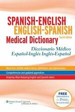 Spanish-English/English-Spanish Medical Dictionary/Diccionario Medico Espanol-In