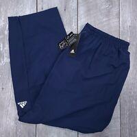Adidas NHL Branded Rink Track Pants Mens XL Blue Hockey Trousers J518
