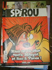 Spirou N° 3495 2005 Bd Buck Danny Kid Paddle Soda Sac à puces Central Park Sammy
