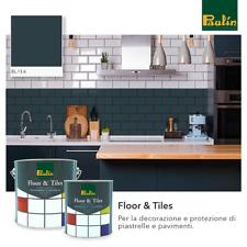 Smalto resina per pavimento piastrelle calcestruzzo alta resistenza 10 mq 750mL