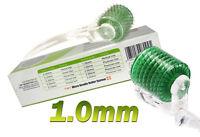 Micro Needle Green Skin Roller 1.0 mm  Anti-aging,Anti Wrinkles,Derma Scars,