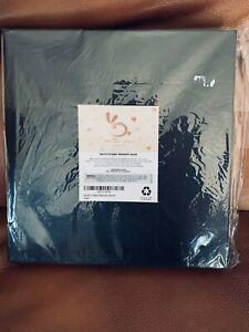 Muffy's Baby Memory Book Album Scrapbook Soft Tan Leather