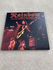 Rainbow - Live in Munich 77 - 2013 2-LP Ltd.Splattered Vinyl - Record Store Day