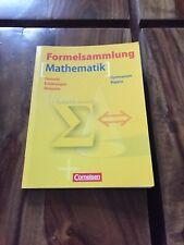 Formelsammlung Mathematik - Gymnasium Bayern - Cornelsen Verlag