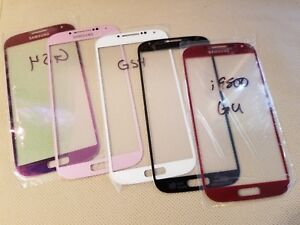New Samsung Front Screen Glass Lens for GALAXY S4 i9500 i337 i545 L720 M919 R970