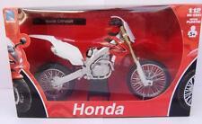 Rouge Honda CRF 450 1:12 Moulage sous pression moto motocross jouet miniature