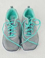 Skechers 13058 Skech-Knit Memory Foam Lace Up Walking Shoes Womens Size 8 Gray