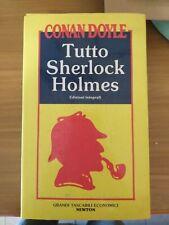 TUTTO SHERLOCK HOLMES Conan Doyle 4 volumi in cofanetto ed. Newton 1993