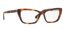 New Authentic Burberry B 2236-F 3316 Havana Unisex Eyeglasses 54mm Italy