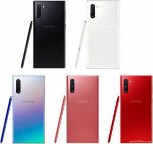 Samsung Galaxy Note 10 256GB Aura Glow / Aura Black / Aura White - Unlocked UK