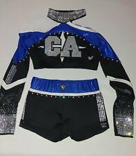 California All-Stars Lady Bullets Cheerleading Uniform