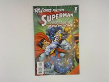 DC Comics Presents: Superman Infestation #1 DC 2011 VF 100 Page Spectacular!