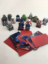 (10) TRANSFORMERS Figures w/3D Puzzle Piece Collector Card