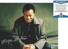 WAYNE SHORTER JAZZ SAXOPHONE ICON SIGNED AUTHENTIC 8x10 PHOTO 6 BECKETT BAS COA