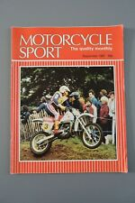 R&L Mag: Motorcycle Sport 1981 Sept Suzuki GSX400/Bike & Vespa Sidecar Tests