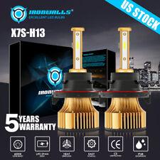 New listing 4 Sides H13 9008 2500W 375000Lm Cree Led Headlight Bulb Kit Hi-Lo Beam 6000K
