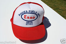 Ball Cap Hat - Davies Fuels - Esso - Guelph Ontario Oil Gas Agent (H1108)