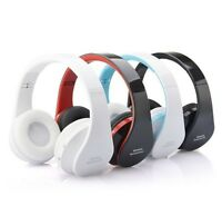 New Earphone Bluetooth Headphone Stereo Foldable Wireless Headset For SmartPhone