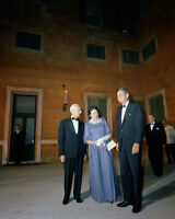 President John F. Kennedy in tuxedo at Quirinal Palace in Rome Italy Photo Print