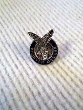 FRATERNAL ORDER OF EAGLES PIN  F.O.E. FOE Charter  Member lapel tack silver-tone