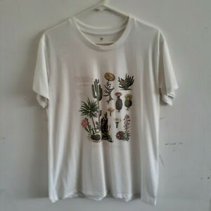Cotton On Cacti Cactus Succulents Tshirt Tee Casual Size Large L