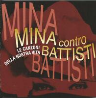 2 cd Mina Contro Battisti Le Canzoni Della Nostra Vita RTI Music RTI 0214-2